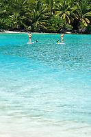 Paddle boarding<br /> Cinnamon Bay<br /> Virgin Islands National Park<br /> St. John, U.S. Virgin Islands