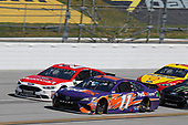#11: Denny Hamlin, Joe Gibbs Racing, Toyota Camry FedEx Express #21: Paul Menard, Wood Brothers Racing, Ford Fusion Motorcraft / Quick Lane Tire & Auto Center