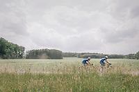 2 Quicksteppers cruisin' along<br /> <br /> 3rd Dwars Door Het hageland 2018 (BEL)<br /> 1 day race:  Aarschot > Diest: 198km