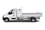 Car Driver side profile view of a 2020 Nissan NV400-Tipper Acenta 2 Door Chassis Cab Side View