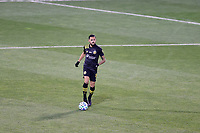 COLUMBUS, OH - DECEMBER 12: Artur #8 of the Columbus Crew brings the ball up the field during a game between Seattle Sounders FC and Columbus Crew at MAPFRE Stadium on December 12, 2020 in Columbus, Ohio.