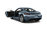 Car images close up view of a 2017 Porsche 718 Cayman S 3 Door Coupe doors