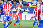 Atletico de Madrid's Filipe Luis during the match of La Liga Santander between Atletico de Madrid and Deportivo Alaves at Vicente Calderon Stadium. August 21, 2016. (ALTERPHOTOS/Rodrigo Jimenez)