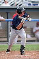 Mahoning Valley Scrappers Dustin Realini during a NY-Penn League game at Dwyer Stadium on July 30, 2006 in Batavia, New York.  (Mike Janes/Four Seam Images)
