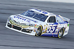 Sprint Cup Series driver Brian Vickers (55) in action during the Nascar Sprint Cup Series Duck Commander 500 practice at Texas Motor Speedway in Fort Worth,Texas.