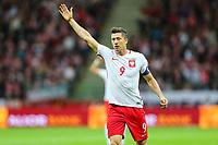 04.09.2017, Warszawa, pilka nozna, kwalifikacje do Mistrzostw Swiata 2018, Polska - Kazachstan, Robert Lewandowski (POL), Poland - Kazakhstan, World Cup 2018 qualifier, football, fot. Tomasz Jastrzebowski / Foto Olimpik<br /><br />POLAND OUT !!!! *** Local Caption *** +++ POL out!! +++<br /> Contact: +49-40-22 63 02 60 , info@pixathlon.de