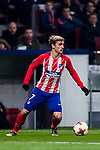 Antoine Griezmann of Atletico de Madrid in action during the UEFA Europa League 2017-18 Round of 16 (1st leg) match between Atletico de Madrid and FC Lokomotiv Moscow at Wanda Metropolitano  on March 08 2018 in Madrid, Spain. Photo by Diego Souto / Power Sport Images