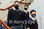 Colaite Na Riochta students Eoghan Cameron, Conor Fitzgerald- Horgan & Rhianna Cameron.