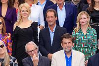 Nicole KIDMAN, Vincent LINDON, Kirsten DUNST, Ken LOACH et Nanni MORETTI, - PHOTOCALL DES PERSONNALITES AU 70EME ANNIVERSAIRE DU FESTIVAL DU FILM CANNES