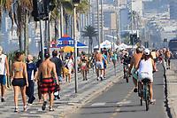 Rio de Janeiro (RJ), 31/05/2020 - Quarentena-RIo - Movimentação na praia de Ipanema, zona sul do Rio de Janeiro, neste domingo (31).