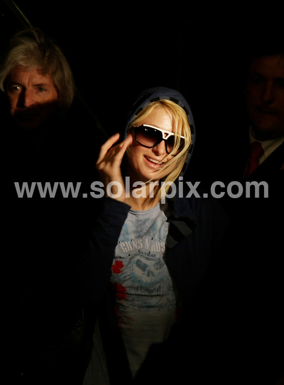 **ALL ROUND PICTURES FROM SOLARPIX.COM**.**SYNDICATION RIGHTS FOR UK AND SPAIN ONLY**.Paris Hilton in front of the Hilton hotel at the Gendermenmarkt in Berlin on the 11th December 2007..JOB REF: 5490 CPR        DATE: 11_12_2007.**MUST CREDIT SOLARPIX.COM OR DOUBLE FEE WILL BE CHARGED* *UNDER NO CIRCUMSTANCES IS THIS IMAGE TO BE REPRODUCED FOR ANY ONLINE EDITION WITHOUT PRIOR PERMISSION*