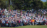 TAOYUAN, TAIWAN - OCTOBER 23: Yani Tseng' supporters stand on the 1st green during day four of the LPGA Imperial Springs Taiwan Championship at Sunrise Golf Course on October 23, 2011 in Taoyuan, Taiwan. Photo by Victor Fraile / The Power of Sport Images