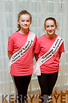 Eimer Enright and Abby Mulvihill, members of the Tralee Musical Society at their 'Strictly Young Dancing' fundraiser launch in the Ballyroe Heights Hotel on Saturday which is being held on February 9th in Ballyroe Hotel.