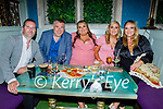 Enjoying the evening in Benners Hotel on Saturday, l to r: Martin Hurley, Tim Landers, Jade Sanderson, Ciagh O'Gorman and Jackie Hurley