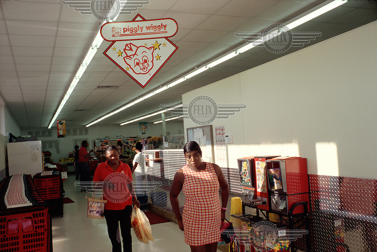 A Piggly Wiggly supermarket.