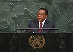 72 General Debate – 23rd of September  2017<br /> <br /> H.E. Augustine Phillip MAHIGA<br /> Minister for Foreign Affairs,<br /> East Africa, Regional and<br /> International Cooperation of the<br /> UNITED REPUBLIC OF TANZANIA
