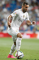 Real Madrid's Jese Rodriguez during XXXVI Santiago Bernabeu Trophy. August 18,2015. (ALTERPHOTOS/Acero)