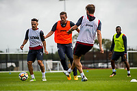 Wednesday 26 July 2017<br /> Pictured: Gylfi Sigurdsson of Swansea City  in action during training <br /> Re: Swansea City FC Training session takes place at the Fairwood Training Ground, Swansea, Wales, UK