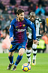 Lionel Andres Messi of FC Barcelona in action during the La Liga 2017-18 match between FC Barcelona and Levante UD at Camp Nou on 07 January 2018 in Barcelona, Spain. Photo by Vicens Gimenez / Power Sport Images