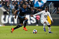 San Jose, CA - Saturday March 09, 2019: Major League Soccer (MLS) match between the San Jose Earthquakes and Minnesota United FC at Avaya Stadium.