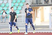 Felix Pauer (l.) und Jan Förstel (Waldalgesheim) - SV Alem. Waldalgesheim trifft in der 1. Runde des DFB-Pokal auf Bayer Leverkusen und spielt gegen Ingelheim den Saisonauftakt