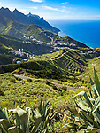 Spanien, Kanarische Inseln, Teneriffa, Taganana, Bergdorf im Anaga Gebirge | Spain, Canary Islands, Tenerife, Taganana, mountain village at Anaga mountains