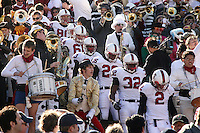 2 December 2006: Erik Lorig, Bobby Dockter, Jason Evans, Anthony Kimble, Emeka Nnoli, Nick Sanchez during Stanford's 26-17 loss to Cal in the 109th Big Game at Memorial Stadium in Berkeley, CA.