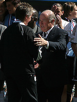 Sepp Blatter, Germany 2-1 over Sweden at the  WWC 2003 Championships.