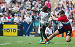 Russia vs Zimbabwe during the HSBC Sevens Wold Series Qualifier Final match as part of the Cathay Pacific / HSBC Hong Kong Sevens at the Hong Kong Stadium on 29 March 2015 in Hong Kong, China. Photo by Manuel Bruque / Power Sport Images