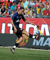 Manchester United defeated the Chicago Fire 3-1 at Soldier Field in Chicago, IL on July 23, 2011.