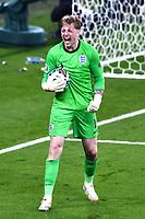11th July 2021; Wembley Stadium, London, England; 2020 European Football Championships Final England versus Italy; Jordan Pickford saves a penalty