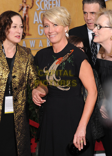 Emma Thompson  at the 20th Annual Screen Actors Guild Awards held at The Shrine Auditorium in Los Angeles, California on January 18th 2014.                                                                              <br /> CAP/DVS<br /> ©Debbie VanStory/Capital Pictures