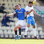 17.07.2021 Rangers B v Bo'ness Utd: Cole McKinnon and Nick Locke