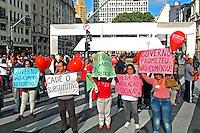 Manifestaçao dos servidores publicos municipais. Sao Paulo. 2015. Foto de Marcia Minillo.