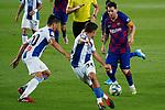 8th July 2020; Camp Nou, Barcelona, Catalonia, Spain; La Liga Football, Barcelona versus Espanyol; Picture show Leo Messi