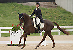 April 25, 2014: Arthur and Allison Springer lead the way on the 2nd day of Dressage at the Rolex Three Day Event in Lexington, KY at the Kentucky Horse Park.  Candice Chavez/ESW/CSM
