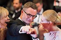 Liv Corfixen, Nicolas Winding Refn, Elle Fanning - CANNES 2106 - MONTEE DU FILM 'THE NEON DEMON'