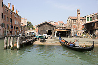 Veduta dello Squero San Trovaso, Venezia.<br /> View of the Squero San Trovaso in Venice.<br /> UPDATE IMAGES PRESS/Riccardo De Luca