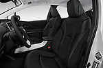 Front seat view of 2016 Toyota Prius Three Touring 5 Door Hatchback front seat car photos