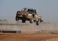 Apr 17, 2011; Surprise, AZ USA; LOORRS driver Rob MacCachren (1) during round 4 at Speedworld Off Road Park. Mandatory Credit: Mark J. Rebilas-