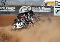 Apr 17, 2011; Surprise, AZ USA; LOORRS driver Phil Bollman(65) during round 4 at Speedworld Off Road Park. Mandatory Credit: Mark J. Rebilas-