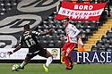 Robin Shroot of Stevenage sets up James Dunne for the winner<br />  - Notts County v Stevenage - Sky Bet League One - Meadow Lane, Nottingham - 24th August 2013<br /> © Kevin Coleman 2013