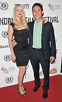 """guest & Akie Kotabe attend the """"My Hero"""" Raindance Film Festival UK film premiere, Vue Piccadilly cinema, Lower Regent Street, London, England, UK, on Friday 25 September 2015. <br /> CAP/CAN<br /> ©Can Nguyen/Capital Pictures"""