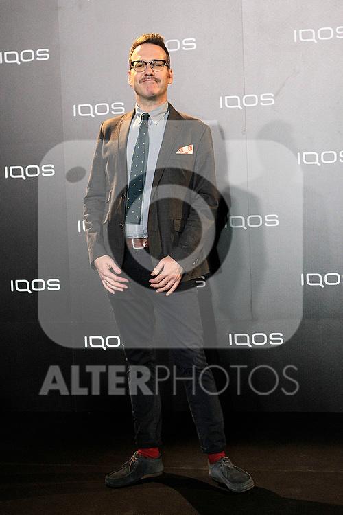 Joaquin Reyes attends to IQOS3 presentation at Palacio de Cibeles in Madrid. February 10,2019. (ALTERPHOTOS/Alconada)