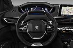 Car pictures of steering wheel view of a 2017 Peugeot 3008 GT-Line 5 Door Suv Steering Wheel