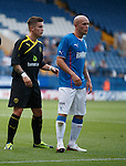 Rhys McCabe and Nicky Law