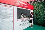 HSBC Sevens Village at the HSBC Hong Kong Rugby Sevens 2017 on 09 April 2017 in Hong Kong Stadium, Hong Kong, China. Photo by Chris Wong / Power Sport Images