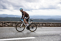 Alexis Vuillermoz (FRA/AG2R La Mondiale) up the Col de la Faye<br /> <br /> 107th Tour de France 2020 (2.UWT)<br /> (the 'postponed edition' held in september)<br /> Stage 3 from Nice to Sisteron 198km<br /> ©kramon