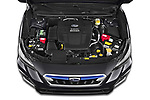 Car Stock 2020 Subaru XV-boxer Premium 5 Door SUV Engine  high angle detail view