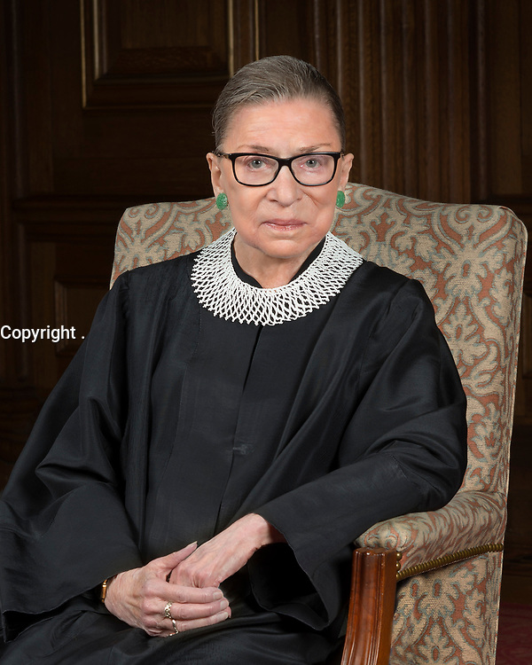 Ruth Bader Ginsburg in her 2016 official portrait